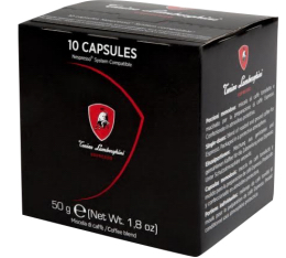Capsule Espresso Tonino Lamborghini x10 pour Nespresso