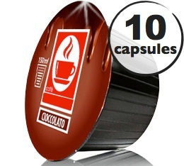 Capsules Dolce Gusto� compatibles Chocolat x10