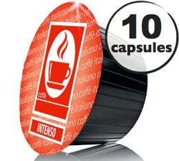 Capsules Dolce Gusto� compatibles Intenso  x10
