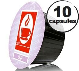 Capsules Dolce Gusto� compatibles Seta 100% Arabica x10