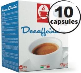 Capsules compatibles Nespresso® Decaffeinato x10