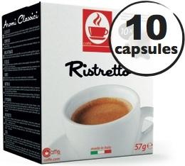 Capsules compatibles Nespresso® Ristretto x10