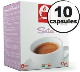 Capsules compatibles Nespresso® Seta 100% Arabica x10
