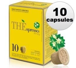10 Capsules Thé Earl Grey compatibles Nespresso® - Caffè Vergnano