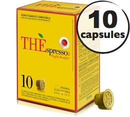 10 Capsules Th� English Breakfast compatibles Nespresso� - Caff� Vergnano