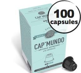 Capsules D�caf�in� Dabema x100 CapMundo pour Nespresso
