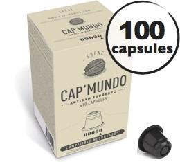 Capsules Ebène x100 CapMundo pour Nespresso