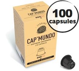 Capsules Zebrano x100 CapMundo pour Nespresso