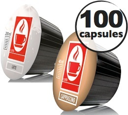 Capsules Dolce Gusto® compatibles Cappuccino x100