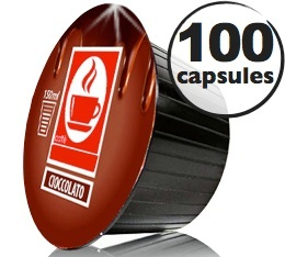Capsules Dolce Gusto� compatibles Chocolat x100