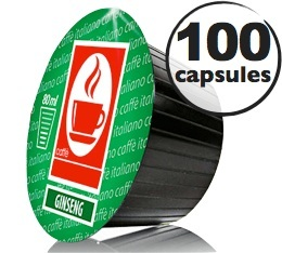 Capsules Dolce Gusto� compatibles Ginseng  x100
