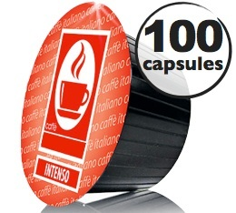Capsules Dolce Gusto� compatibles Intenso  x100