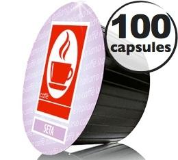 Capsules Dolce Gusto� compatibles Seta 100% Arabica x100