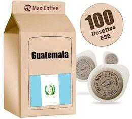 Dosette caf� Guatemala x 100 dosettes ESE
