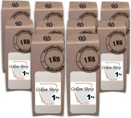 Caf� en grains Coffee Shop Blend - 10 Kg