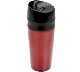 Mug double paroi polycarbonate rouge 40cl - Oxo