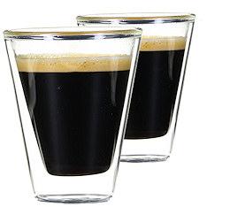 12 Verres Double Paroi Caffeino 8.5 cl