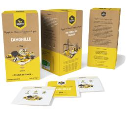 20 sachets Infusion Bio Camomille - SCOP TI