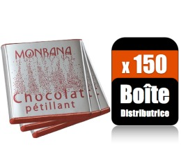 150 Monbana Napolitains p�tilliant 2 parfums (Bo�te distributrice) - Monbana