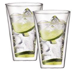 2 verres  BODUM CANTEEN 40cl