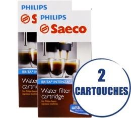 Lot de 2 Filtres Intenza + Brita pour machine Saeco et Gaggia