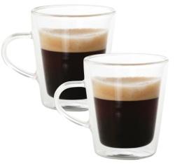 Lot de 2 mugs double paroi 22cl - Id�lice