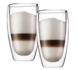 2 verres BODUM PAVINA 45cl