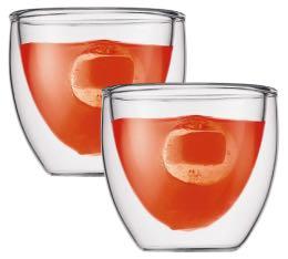 2 verres BODUM PAVINA  8cl