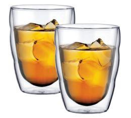 2 verres BODUM PILATUS 25 cl