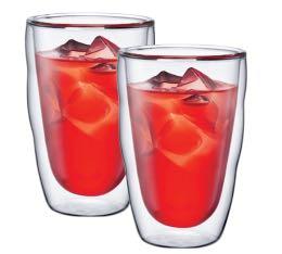 2 verres BODUM PILATUS 35 cl