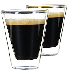 24 Verres Double Paroi Caffeino 8.5 cl