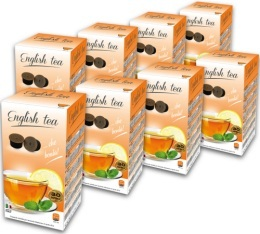 240 x Capsules English Tea pour machines Espresso Cap