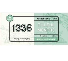 Infusion Tilleul Menthe 1336 de chez SCOP-TI x 25 sachets