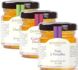Tube de 3 mini pots Gelées de thé (3x50gr) - Dammann