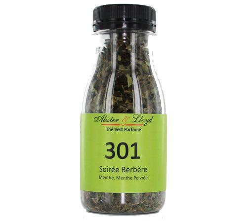Thé vert parfumé Alister & Lloyd 301 Soirée Berbère - 40g
