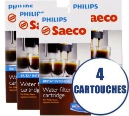 Lot de 4 Filtres Intenza + Brita pour machine Saeco et Gaggia