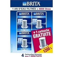 Cartouches Brita On Tap 3+1