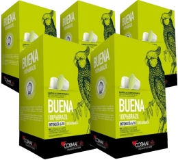 Capsules Buena x50 Cosmai Caffe pour Nespresso