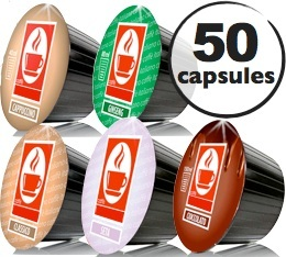 Pack d�couverte - 50 capsules Dolce Gusto� compatibles