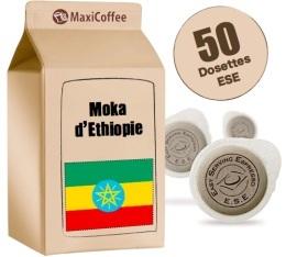 Dosette       caf� Moka d'Ethiopie x 50 dosettes ESE