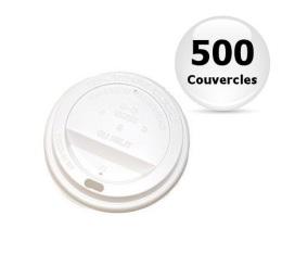 500 couvercles pour gobelet Monde 18cl