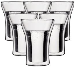 6 verres BODUM ASSAM 25cl