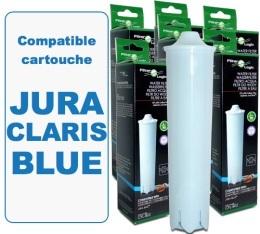 Lot de 6 cartouches filtrantes Filter Logic FL-802 compatible Jura Claris Blue