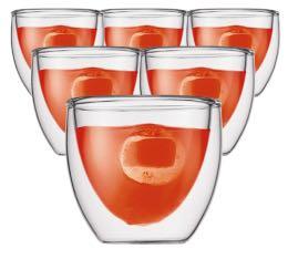 6 verres BODUM PAVINA  8cl