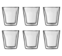 6 verres BODUM CANTEEN - 10cl
