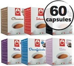 Pack découverte - 60 capsules compatibles Nespresso®