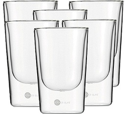 6 verres Hot'n cool Barista 15cl - Jenaer Glas