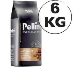 Caf� en grains Espresso Bar Vivace N�82 - 6 kg - Pellini