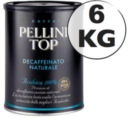 Caf� moulu Pellini d�caf�in� 100% Arabica 6kg