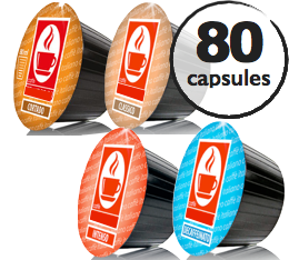 Pack d�couverte - 80 capsules Dolce Gusto� compatibles